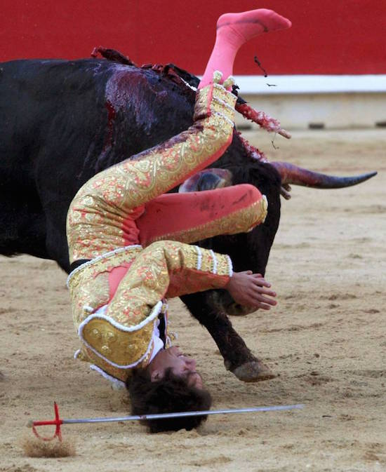 French Matador Got What He Deserved?
