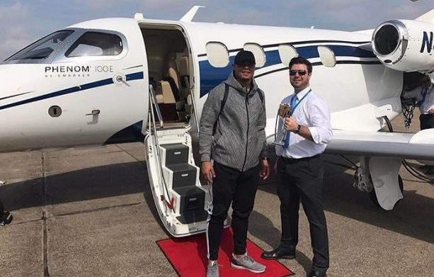 Dak Prescott Racking Up Miles Flying Private
