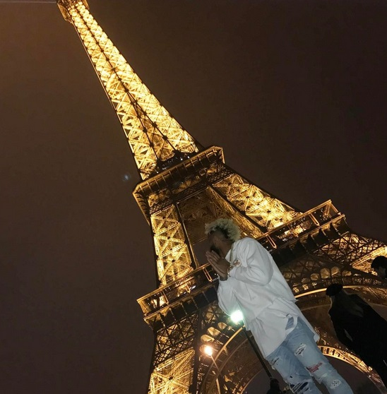 Odell Beckham Jr. Goes on Vacation to 'Gay Paree'