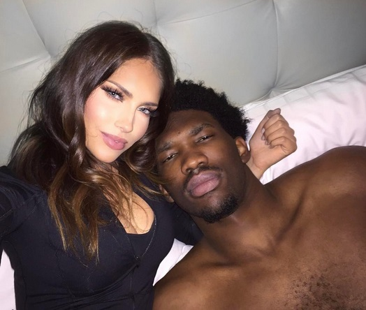 Joel Embiid's Valentine Is Better Than Yours