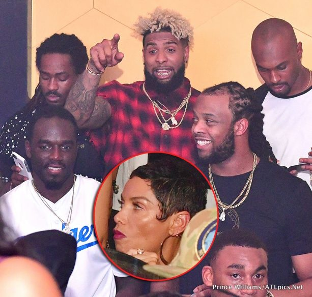 OBJ Left the Club with his Boys, Not Nicole Murphy