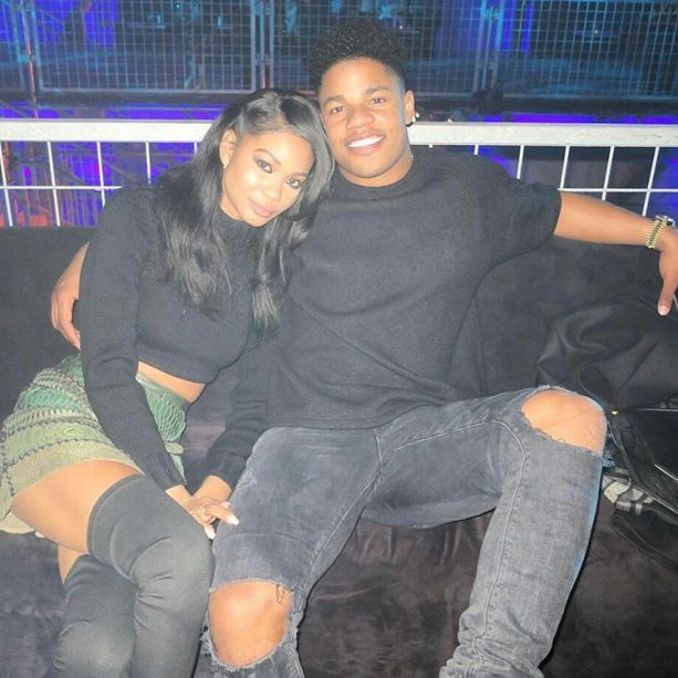 NY Giants Sterling Shepard Dating Chanel Iman