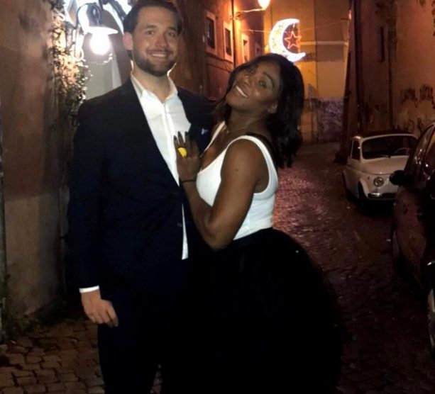 Reddit Co-Founder and Fiance To Serena Gushes All Over Her