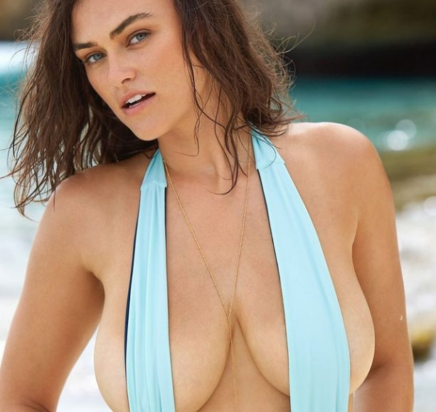 SI Swimsuit Rookie Myla Dalbesio is a Handful