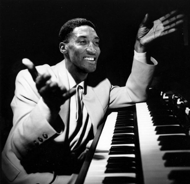 Scottie Pippen's Kid Playing a Piano Leads to Future Heckles