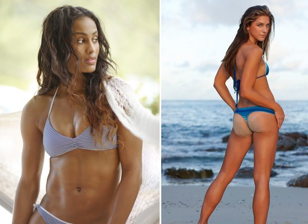 Alex Morgan, Skylar Diggins Trade Uniforms For Guana Island