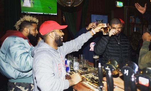 Drake and Odell Beckham Jr. Double up in Dublin