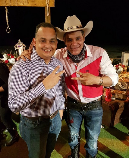 Sammy Sosa in a Cowboy Outfit is Comedy Gold