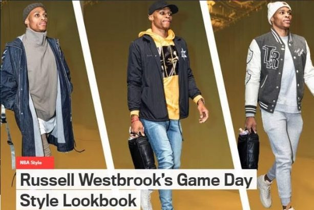 GQ Presents The Official Russell Westbrook NBA 2016/17 Game Day Style Look Book