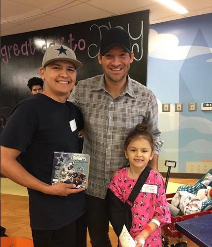 Tony Romo Continues to Warm Hearts