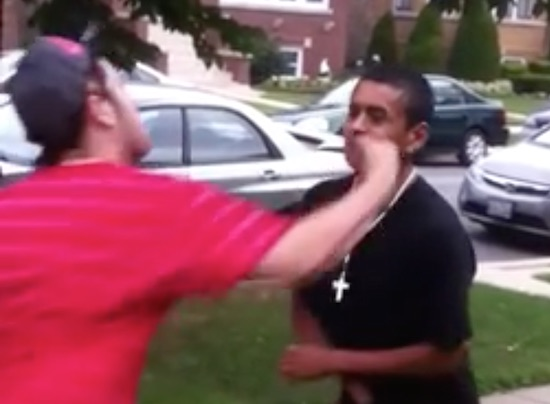 Dude Lets His Cousin Punch Him In The Jaw