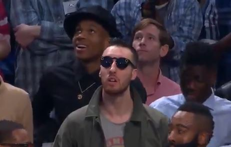 "Frank Kaminsky Spotted Dressed Up Like Charlie From ""It's Always Sunny"""
