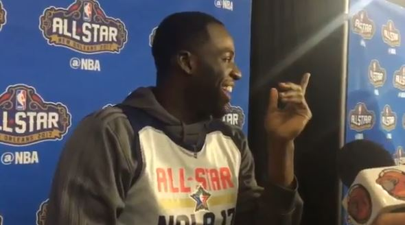 "Draymond Green Says The Earth ""May Be Flat"""