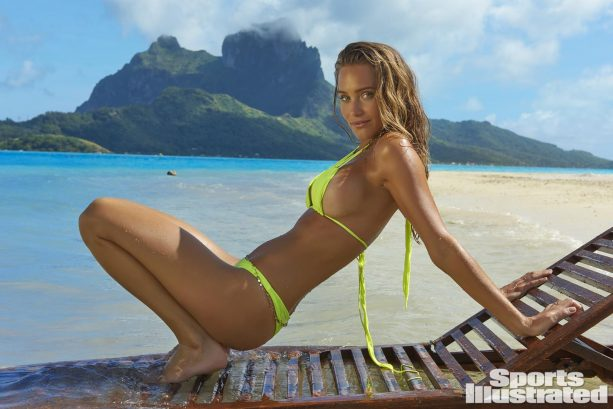 Hannah Jeter Returns for SI Swimsuit