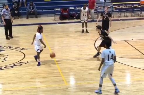 High School Basketball Player Received A Technical Foul For Dancing While Dribbling
