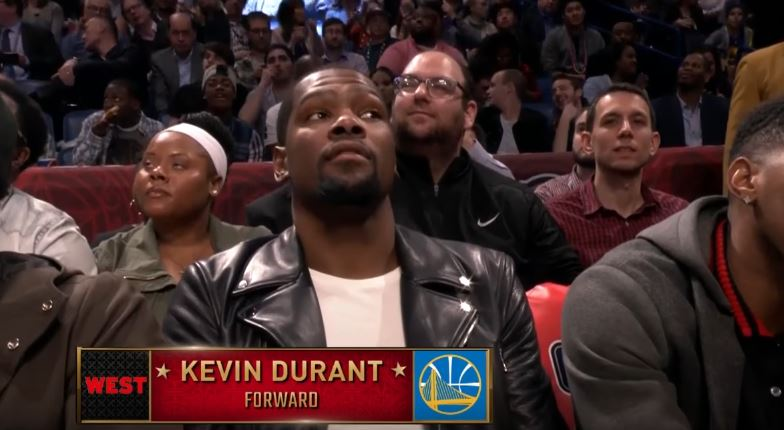 Pelicans Announcer Trolls Kevin Durant During The Three Point Contest