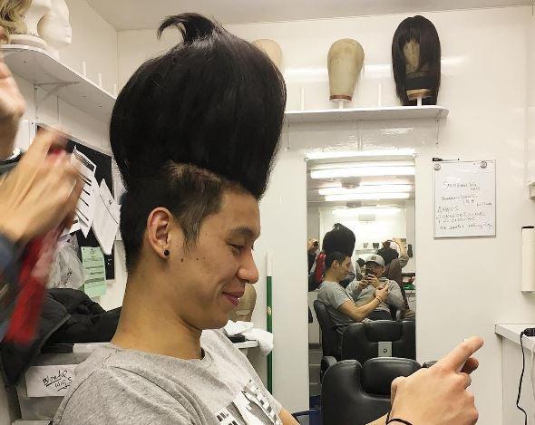 Jeremy Lin Went Full Jimmy Neutron