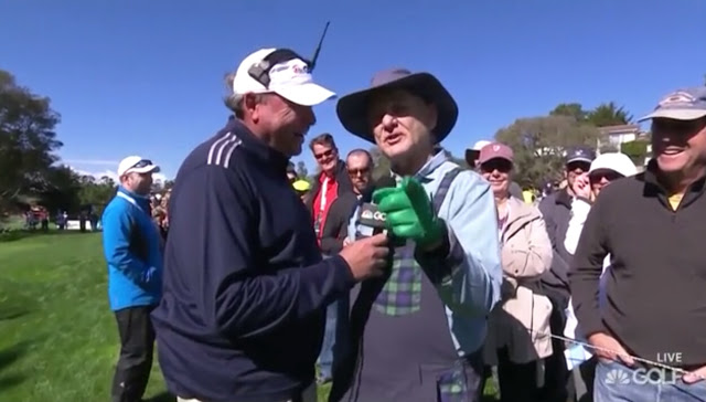 A Salty Bill Murray Refuses To Do An Interview At The Pebble Beach Pro-Am