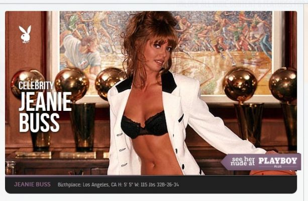 Lakers Owner Jeanie Buss Throwback Playboy Shoot