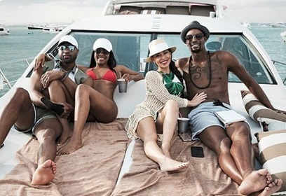 The Wades and Boshs go Yachting
