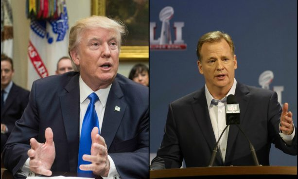 Donald Trump Doesn't Like Roger Goodell Very Much