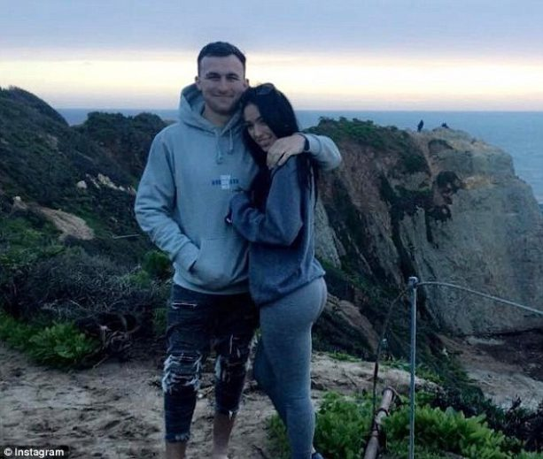 Johnny Manziel Caught Stepping out on his Fiance?