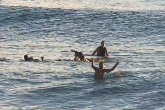 Man Saved By Surfers After Heart Attack