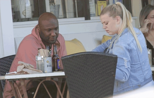 Lamar Out To Lunch With Bootleg Khloe