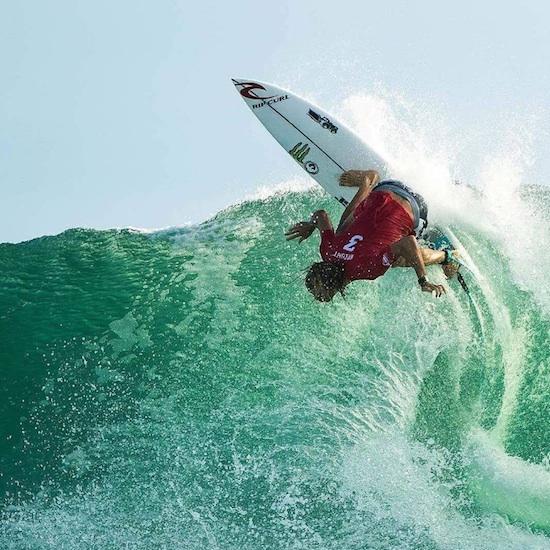 Aussie Shredder Wins The Quicksilver Pro