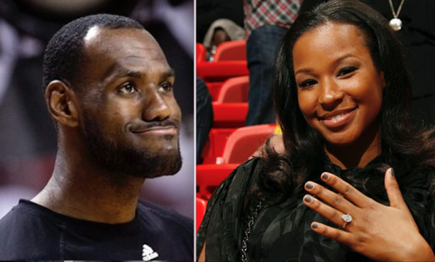 LeBron James Top 10 Crushes Are All White