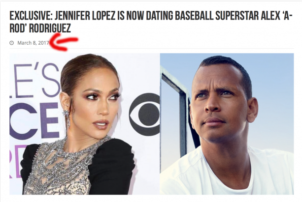Blogger Love B Scott Stole Our Breaking Story About A-Rod & J-Lo