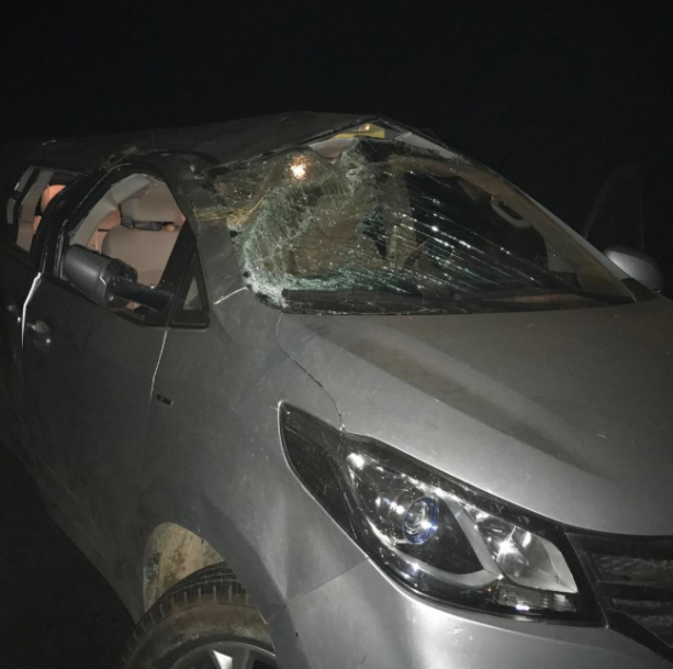 UFC Star Involved In Crazy Car Accident