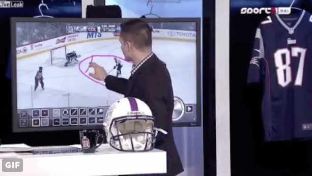 What Kind Of Hockey Analyst Draws A Penis On The Screen