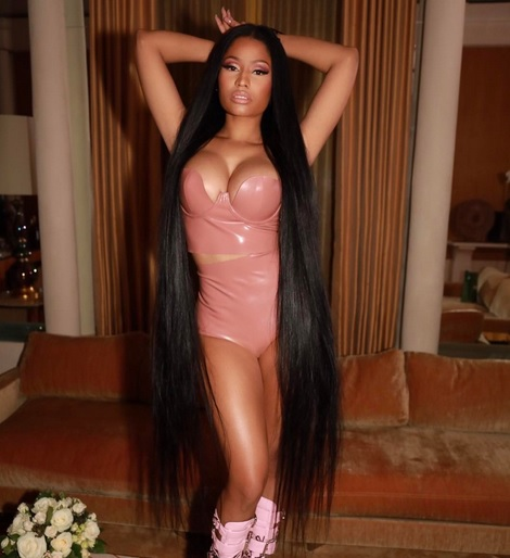 Nicki Minaj Hanging Out With Odell Beckham Jr.