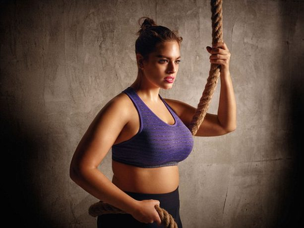 Ashley Graham Packs a Punch in the Ring