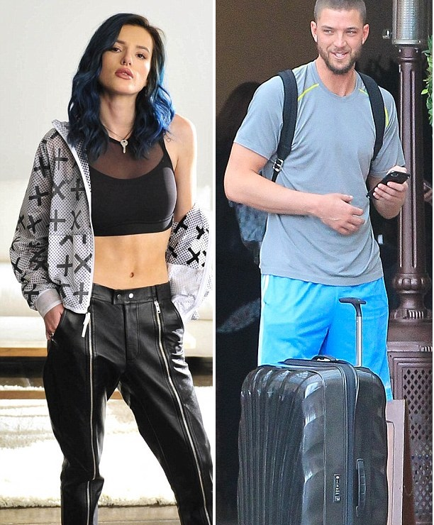 Bella Thorne Movie Date with Chandler Parsons