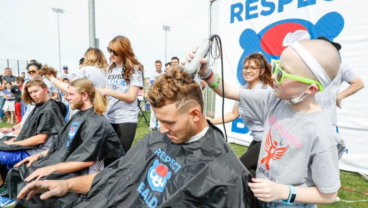 The Cubs Raised More Than $68,000 For Pediatric Cancer Research By Shaving Their Heads