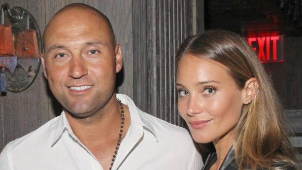 Derek and Hannah Jeter Having Ice Cream Cravings