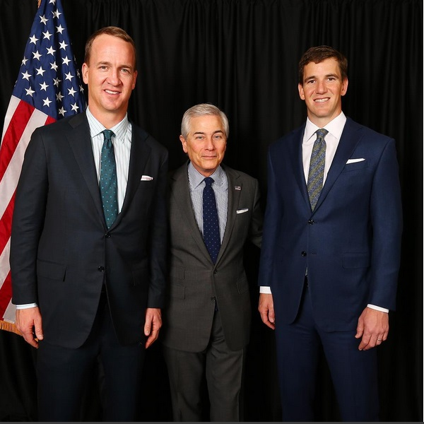 The Manning Brothers Getting into Politics?