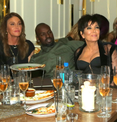 Caitlyn Jenner Asked About Kris Jenner's 'Breakup' With Boyfriend Corey Gamble