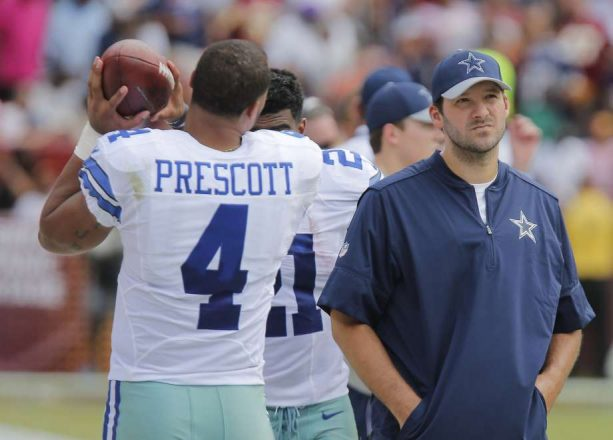 The Tony Romo Dak Prescott Feud Has Officially Begun