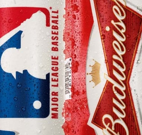 Check out the New Budweiser Major League Baseball Cans