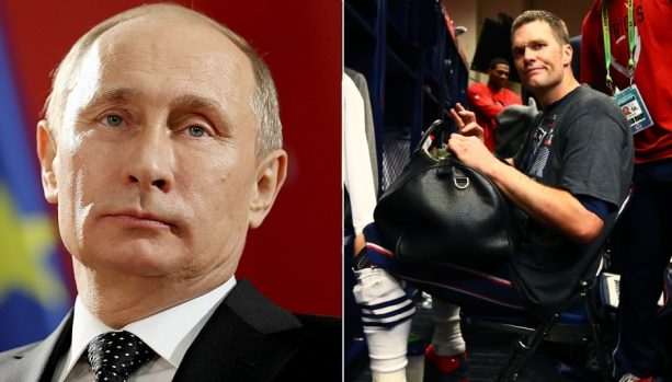The Russians Stole Tom Brady's Superbowl Jersey?