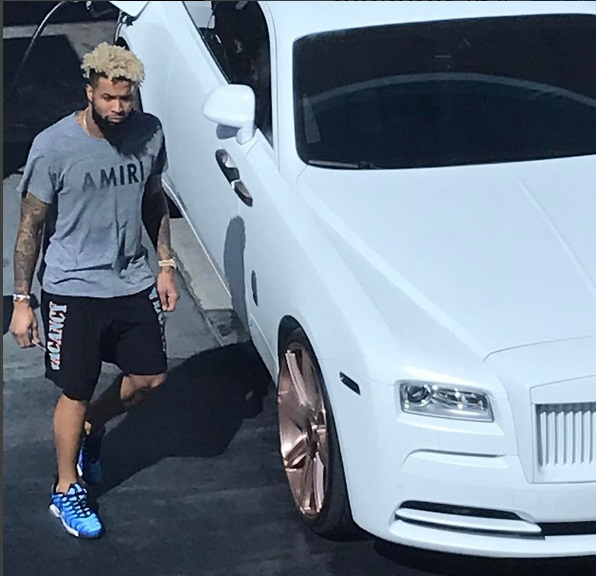 Odell Beckham Jr. Spotted in Weho with the New Whip