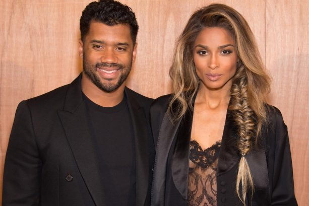 Makeup-free date night with Russell Wilson