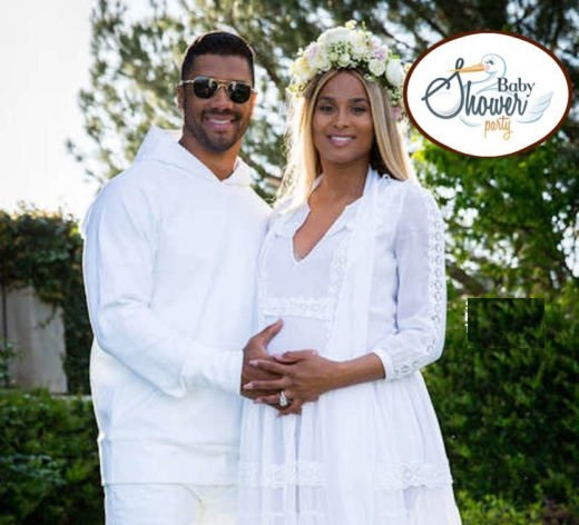Ciara & Russell Wilson Host Co-Ed Baby Shower