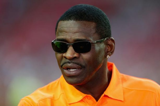 Michael Irvin Spotted Praying at Church