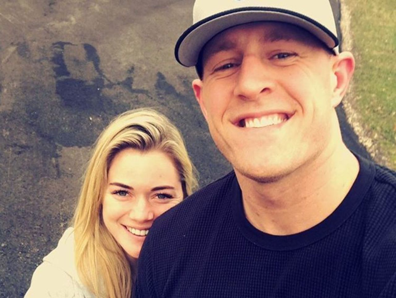 J.J. Watt's Girlfriend Spotted With A Ring On Her Finger