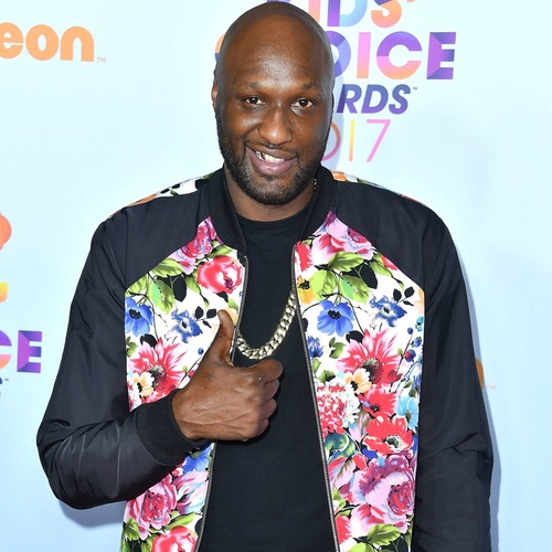 Lamar Odom Back on the Red Carpet with Kids