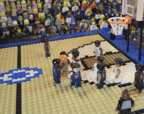 Someone Made A Lego Re-Creation of Villanova's 2016 National Championship Win